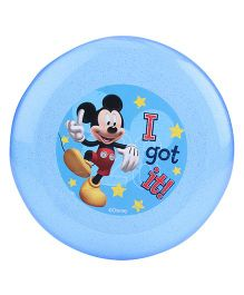Disney Mickey Mouse Frisbee - Blue