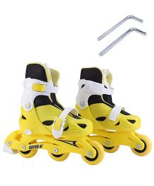 Super K In Line Skates - Yellow