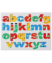 Little Genius - Wooden English Alphabet Lowercase