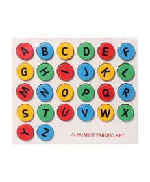 Wooden Alphabet Pairing Set