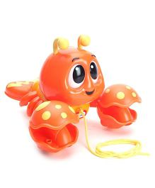 Little Tikes Pull N Chatter Lobster - Orange