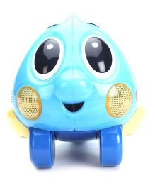 Little Tikes Push and Glow Fish - Blue