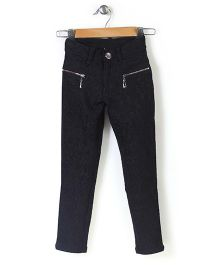 Lei Chie Casual Jeggings - Black