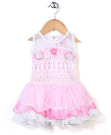Lei Chie Lace Dress - Pink