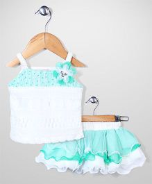 Lei Chie Skirt & Top Set - Green