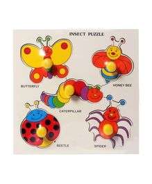 Little Genius - Wooden Insect Puzzle
