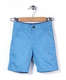 Timeless Fashion Casual Shorts - Blue
