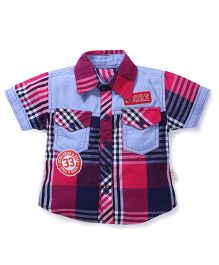 Kiddy Mall Score 33 Printed Shirt - Multicolor