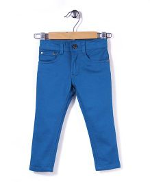 Timeless Fashion Full Length Pant - Blue