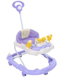 R for Rabbit Musical Baby Walker Purple - BWCFOP2