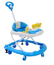 R for Rabbit Musical Baby Walker Blue - BWCFDB2