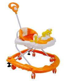 R for Rabbit Musical Baby Walker Orange - BWCFJO2