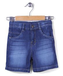 Timeless Fashion Denim Shorts - Blue