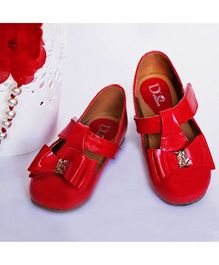 D'chica Shoes Uber Chic Shoes - Red