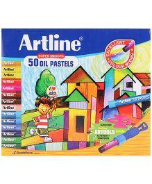 Artline Oil Pastel Colors - 50 Colors