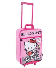 Hello Kitty Luggage Trolley Bag Pink - 19 Inches