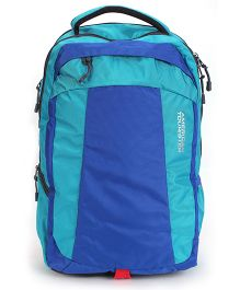 American Tourister Backpack Turquoise Blue - 18 Inches