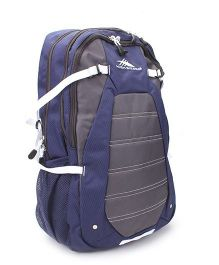 High Sierra Fallout Backpack Navy Blue And Grey