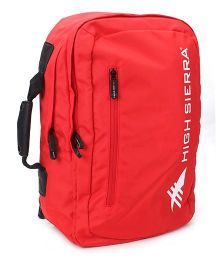 High Sierra High Campus Backpack - Red