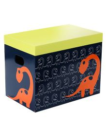 Fly Frog Storage Box With Lid Dinosaur Theme - Multicolor