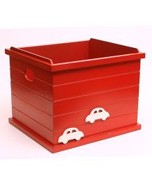 Flyfrog Storage Box Cars Theme - Red