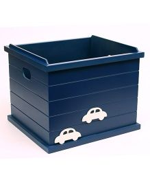 Flyfrog Storage Box Cars Theme - Dark Blue