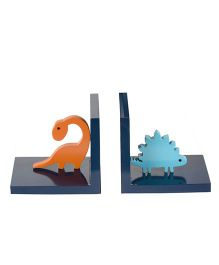 Flyfrog Bookend Dinosaur Theme - Multicolor