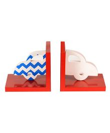 Flyfrog Bookend Car Theme - Multicolor