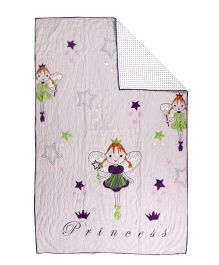 Flyfrog Quilt Princess Theme - Light Purple