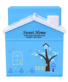 Deli Sweet Home Pen Stand - Blue