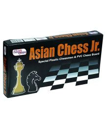 Asian  Chess Junior - Black And White