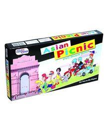 Asian Picnic - Multicolor