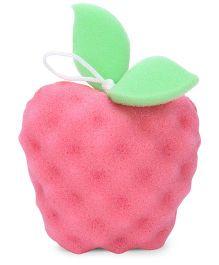 Apple Shape Baby Bath Sponge  (Color May Vary)