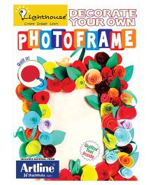 Lighthouse Decorate Your Own Photoframe - Multicolor