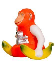 Surya Moving And Jumping Musical Monkey Toy - Orange