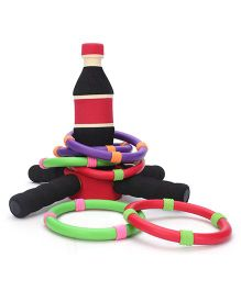 Safsof Ring Toss Game - Black And Red