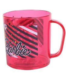 Barbie Clear Mug Pink - 350 ml