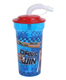 Hotwheels Sports Sipper Blue & Red - 400 ml