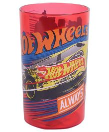 Hotwheels Clear Tumbler Pink - 250 ml
