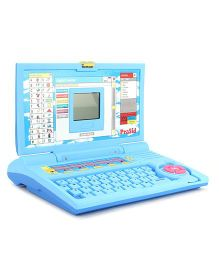 Prasid Learning Laptop English Learner - Blue And Pink