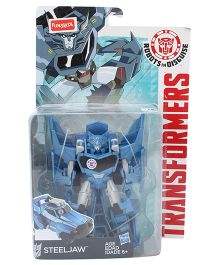 Funskool Transformers Disguise Steeljaw Toy - Blue And Black