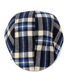 Little Hip Boutique Plaid Beret Cap - Multicolor