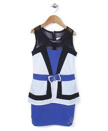 Lei Chie Stylish Party Wear Dress - Blue