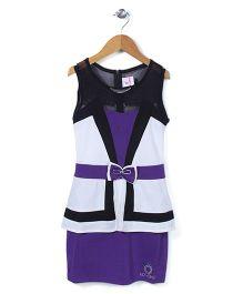 Lei Chie Stylish Party Wear Dress - Purple