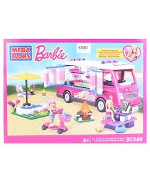 Barbie Luxe Camper Blocks Set - 303 Pieces
