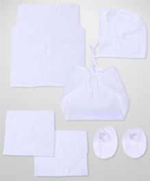 Babyhug Clothing Gift Set Pack Of 12 - White