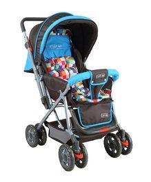 Luv Lap Sunshine Baby Stroller Blue - 18181