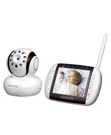 Motorola MBP36 Remote Wireless Video Baby Monitor - White