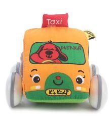 K's Kids Pull Back Auto Taxi - Orange