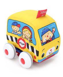 K's Kids Pull Back Auto - Yellow